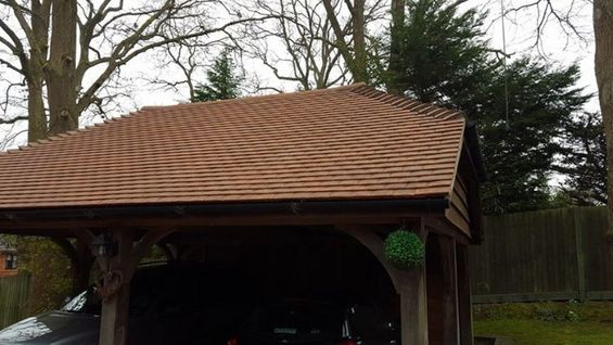 Car Port Roof Clean